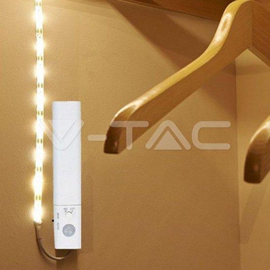 V-TAC 2,4W Elemes LED szalag 3000K/ VT-8082/2573