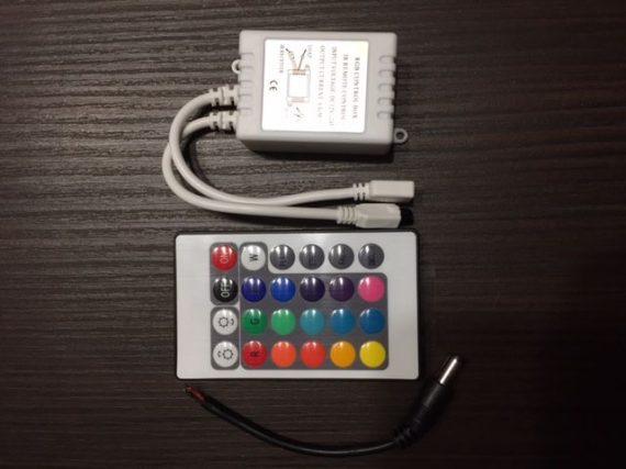 V-TAC RGB LED SZALAG VEZÉRLŐ/ 6A / 72W / VT-2401